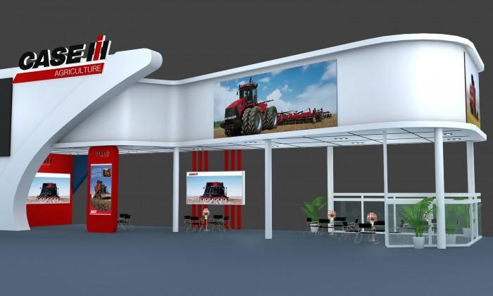 纽荷兰参加2012中国(沈阳)国际农业机械展览会图片
