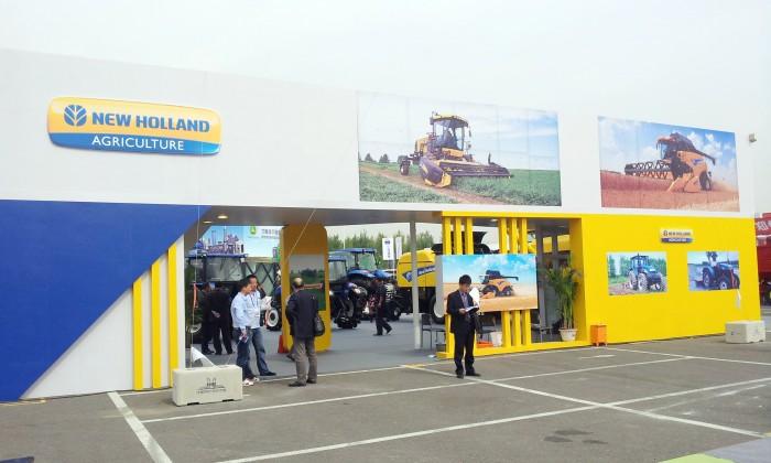 纽荷兰参加2012中国(沈阳)国际农业机械展览会
